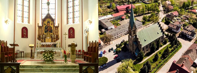 Parafia pw. Matki Bożej Nieustającej Pomocy w Witnicy Logo
