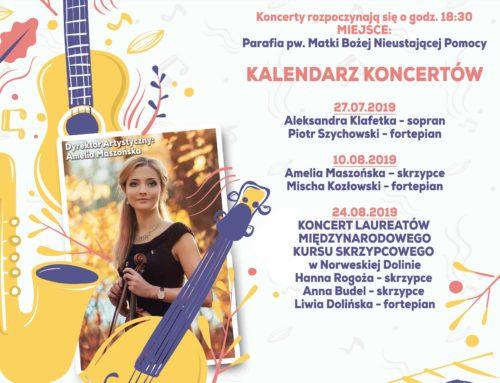 Letnie Spotkania Kameralne Witnica 2019