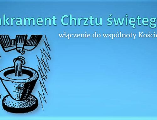 Terminarz nauk przedchrzcielnych w Witnicy.