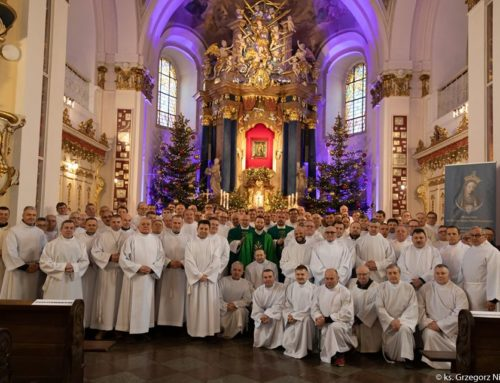 Rekolekcje dla nadzwyczajnych szafarzy Komunii Świętej.