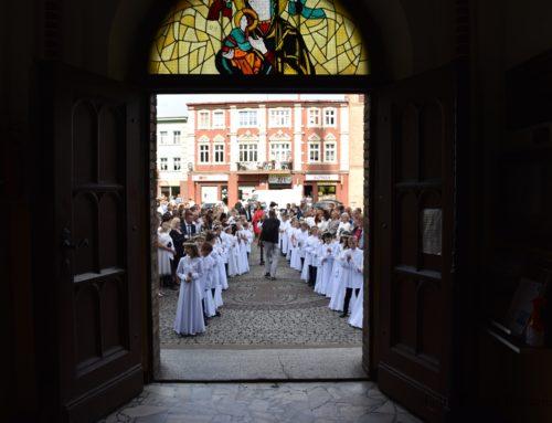 I Komunia św. w naszej parafii.