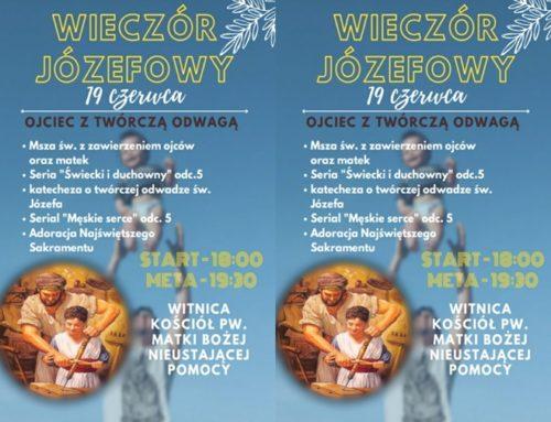Zaproszenie na Wieczory Józefowe.